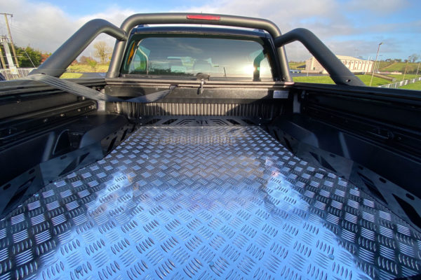VW Amarok Hawk Truck Bed Sliding Tray - Chequered Plate