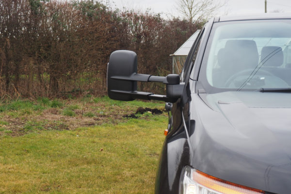 Ford Ranger Left Hand Drive Towing Mirrors with Indicator
