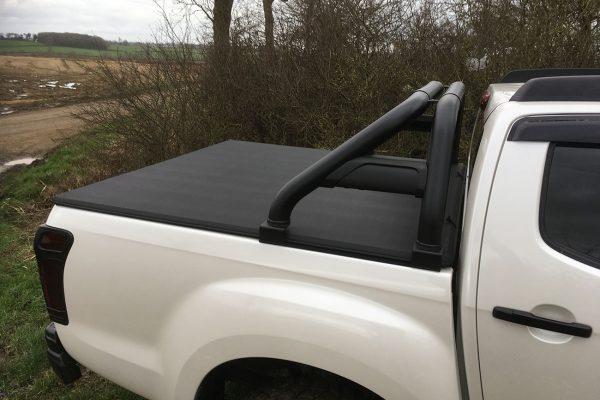 Isuzu Dmax Black Hawk Roll Bar - Fits with Tonneau Covers