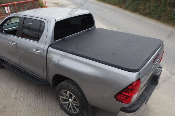 Toyota Hilux Rocco Soft Sailcloth Roll and Lock Tonneau Cover