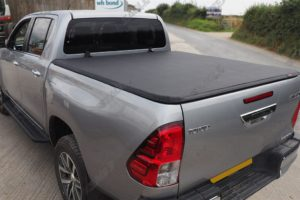 Toyota Hilux Rocco Soft Folding Tonneau Cover Quality Sail Cloth Finish