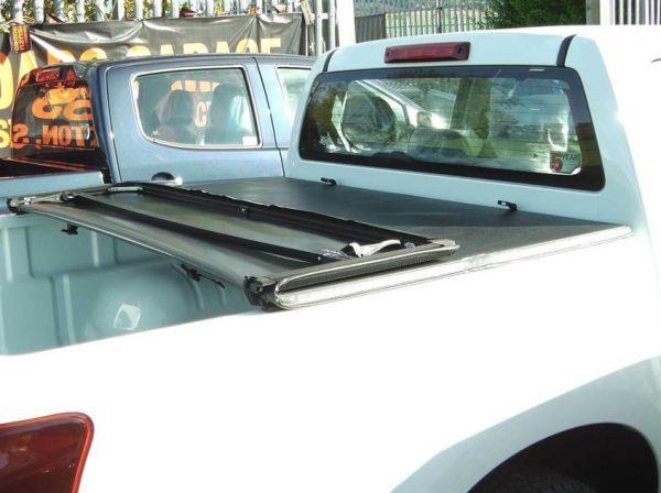 Toyota Hilux Soft Folding Tonneau Cover Premium Sailcloth Quality