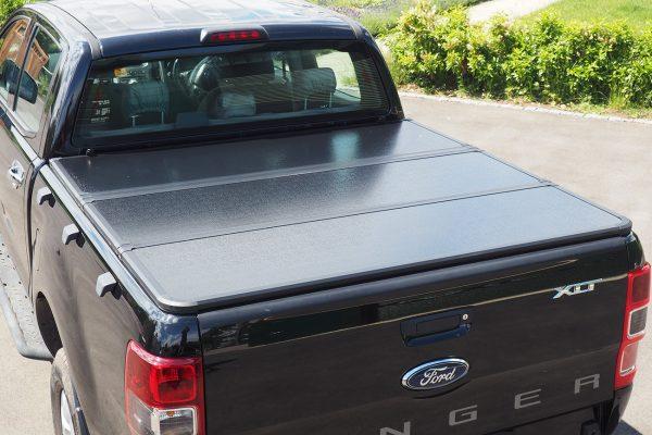 Toyota Hilux Rocco Hard Folding Tonneau Cover