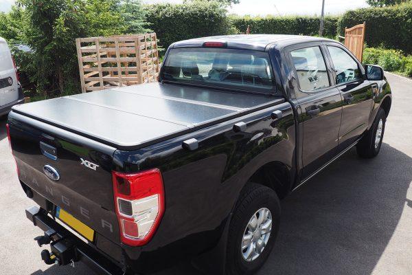 Toyota Hilux Rocco Pro Fold Hard Tri Fold Tonneau Cover