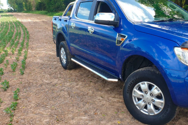Ford Ranger 2012+ Alpine F1 Running Boards - Stainless Steel