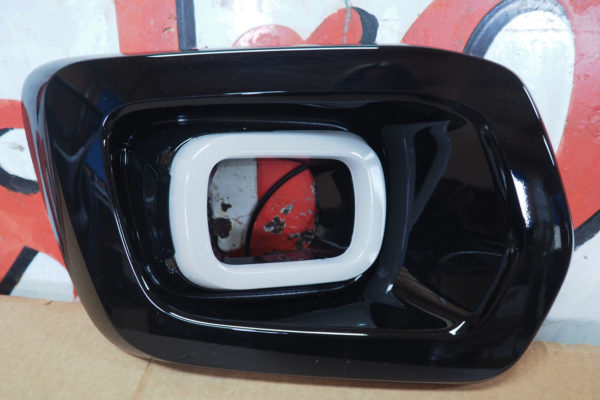 Ford Ranger T8 Fog Light Surrounds - With DRL - Black