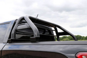 Ssangyong Musso XL Matte Black Roll Bar