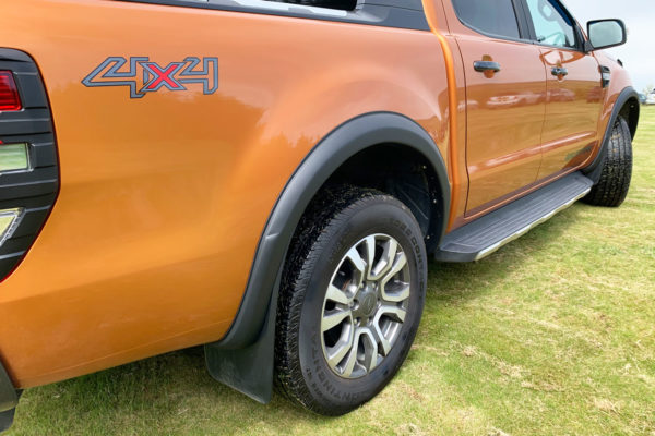 Ford Ranger 2016+ Wheel Arche Extensions - Slim Fit
