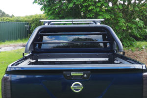 Mitsubishi L200 TEXTURED Roll Bar / Styling Bar BLACK 2006-2015