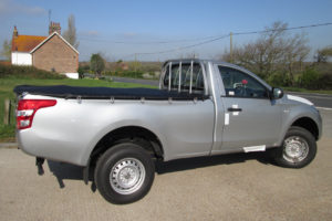 Toyota Hilux Revo Soft Bungee Tonneau Cover Single Cab