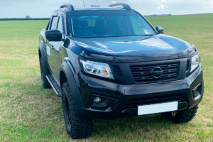 Nissan Navara NP300 Injection Molded Wheel Arch Extensions 2019 Onwards