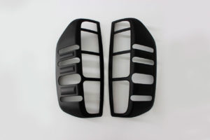 Nissan Navara D40 Rear Light Surround Covers Pair Matte Finish