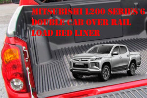 Mitsubishi L200 Series 6 Over Rail Load Bed Liner