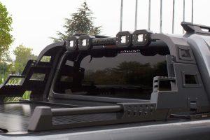 VW Amarok Combat Roll Bar with LED Light Pods