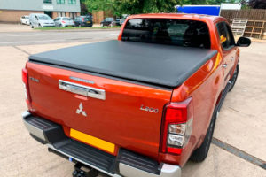 Mitsubishi L200 Series 6 Soft Folding Tonneau Cover