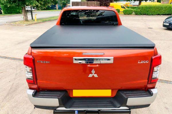 Mitsubishi L200 Series 6 Tri Soft Folding Tonneau Cover