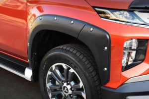 Mitsubishi L200 Series 6 Wheel Arch Extensions - Modified Bolt On Style