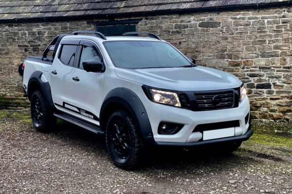 Toyota Hilux (Revo) Fender Flare Wheel Arch Extensions - Rocky Style - Matte Black