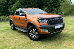 Ford Ranger T7 Super Cab Wheel Arch Extensions - Slim Fit - INJECTION MOULDED