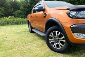Ford Ranger T7 Wheel Arch Extensions - Slim Fit - INJECTION MOULDED