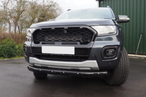 Ford Ranger T7 Ultimate Stealth Grille - Wildtrak Only - Gloss Black