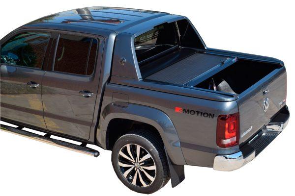 VW Amarok Aventura Roller Shutter Tonneau Cover - Tesser