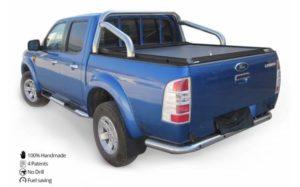Ford Ranger 06-12 Tesser Roller Shutter - Black