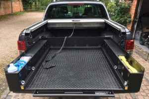 Mercedes X Class Sliding Load Bed Tray