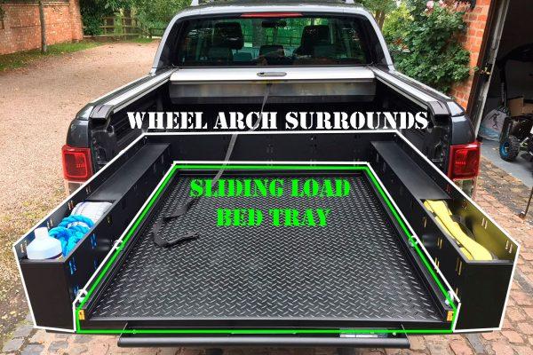 VW Amarok Sliding Load Bed Tray