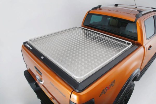 Renault Alaskan Mountain Top Aluminium Chequered Tonneau Cover