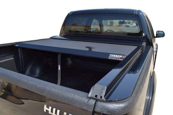 Toyota Hilux 05-15 Tesser Roller Shutter Roll Top Tonneau Cover