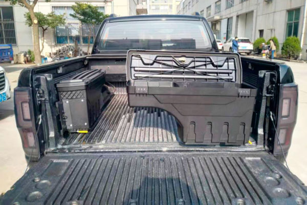 Isuzu Dmax Swing Cases Load Bed Storage