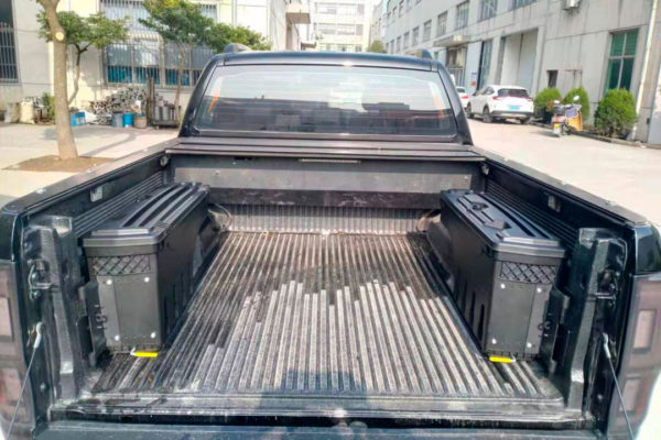 Nissan Navara NP300 Load Bed Swinging Storage Tool Boxes