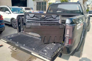 Toyota Hilux Swinging Storage Boxes Tool Case Load Bed