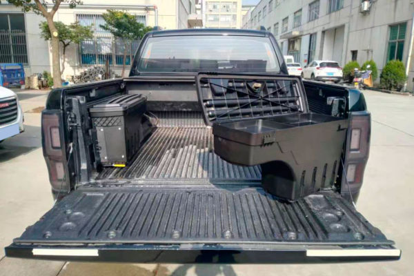 Ford Ranger Swinging Tool Boxes Storage Case for Load Bed