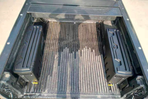 Ford Ranger Swinging Storage Boxes for Load Bed