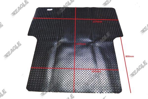 Ford Ranger 1999-2011 Rubber Boot Mat Non Slip Load Liner Dog Mat