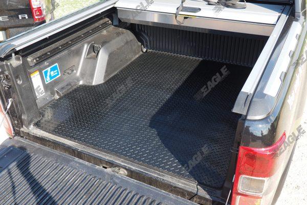Ford Ranger 1999-2011 Rubber Non Slip Chequered Boot Mat Dog Mat
