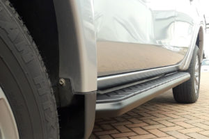 Mitsubishi L200 Series 4 Alpine F1 Black Running Boards