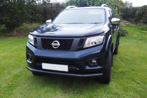 Nissan Navara D40 Black Spoiler Bar 70mm