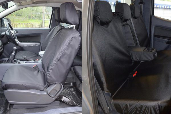 Ford Ranger Raptor 2019+ Seat Covers - Eagle1 Tailored Fit