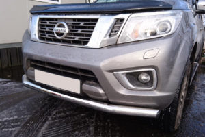 Nissan Navara NP300 Stainless Steel Spoiler Bar 70mm