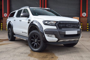 Ford Ranger T8 Extreme Wheel Arches - No Park Assist - Shadow Black