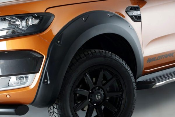 Ford Ranger Extreme Wheel Arches - No Park Assist - Sabre Orange