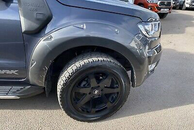 Ford Ranger 2019 On Wheel Arch Extension Upgrades Bolt On Style Wildtrak Grey