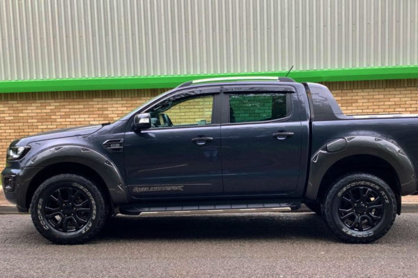 Ford Ranger T8 Extreme Wheel Arch Extensions Wildtrak Grey