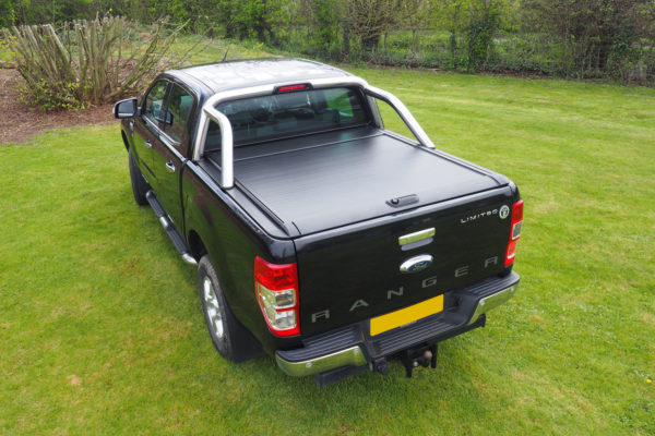 Ford Ranger T8 Pro Roll Roller Shutter with Combat Roll Bar Package