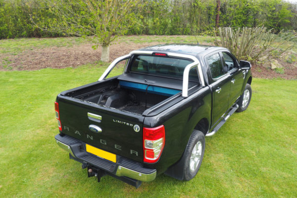 Ford Ranger T8 Combat Roll Bar and Pro Roll Roller Shutter COMBO Package
