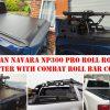 Nissan Navara NP300 Pro Roll Roller Shutter with Combat Roll Bar