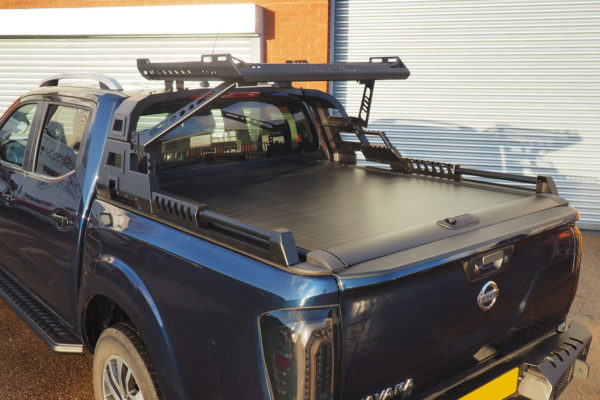 Nissan Navara NP300 Pro Roll Roller Shutter with Combat Roll Bar Combo Package Deal